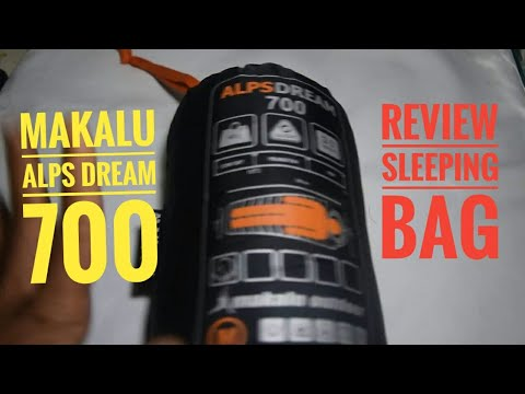 Review Sleeping Bag Makalu Alps Dream 700