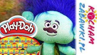 Trolle • Nowoczesne Fryzury • Play Doh Salon Fryzjerski • Kreatywne zabawki