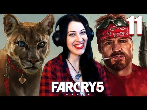 FAR CRY 5 Walkthrough Part 11 - Peaches, Hurk and the Crazy Cat Lady