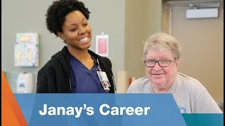 Janay's Career as a Physical Therapist Assistant