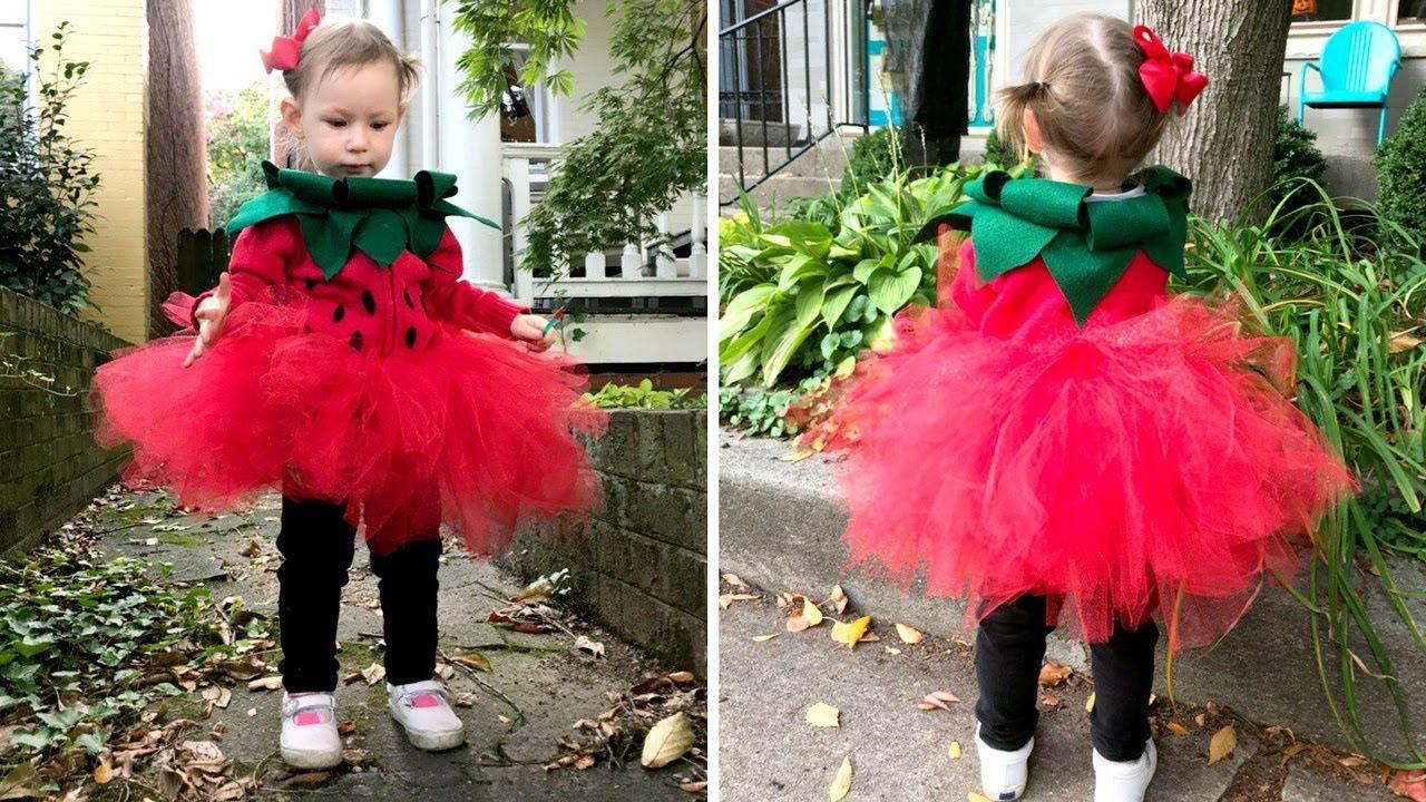 Костюм ягодки для девочки своими руками