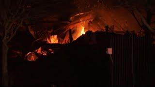 Building explosion shakes Houston, scatters debris