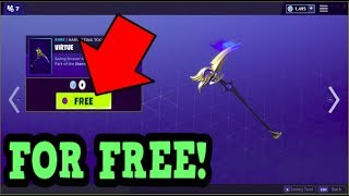HOW TO GET VIRTUE PICKAXE FOR FREE! (Fortnite Old Pickaxe)