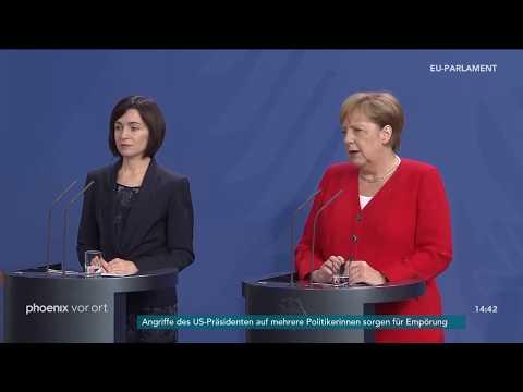 Angela Merkel zur Neubesetzung des Verteidigungsministeriums am 16.07.19