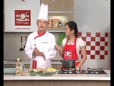 Hướng Dẫn Nấu Ăn Cách Nấu Món Nộm Hoa Chuối Hải Sản – Món Ngon Mỗi Ngày HTV7