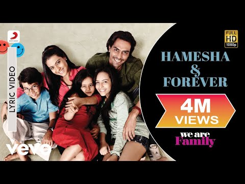 We Are Family - Hamesha & Forever Lyric | Kareena Kapoor, Arjun