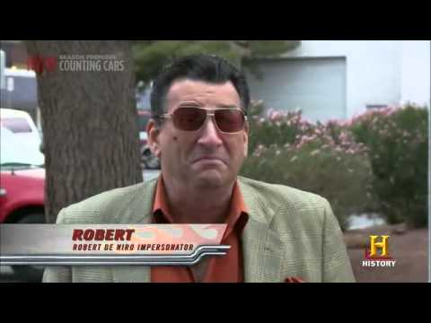 Robert De Niro Impersonator on Counting Cars