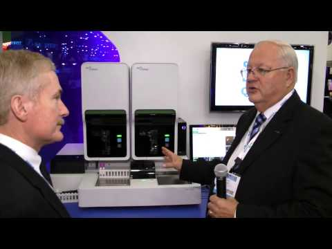 XN-2000 Hematology Analyzer display in Sysmex booth at AACC