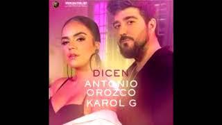 Antonio Orozco, Karol G - Dicen [RUMBATON-EDIT-REMIX] (Mula Deejay Rmx)