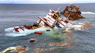 TOP 10 Dangerous Insane Ship Fails Compilation ! Ships Crash Collision