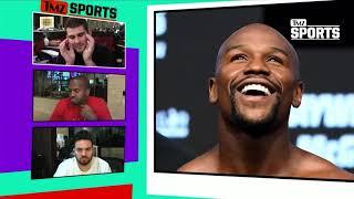 Oscar De La Hoya Says Mayweather Is A What?! | TMZ Sports