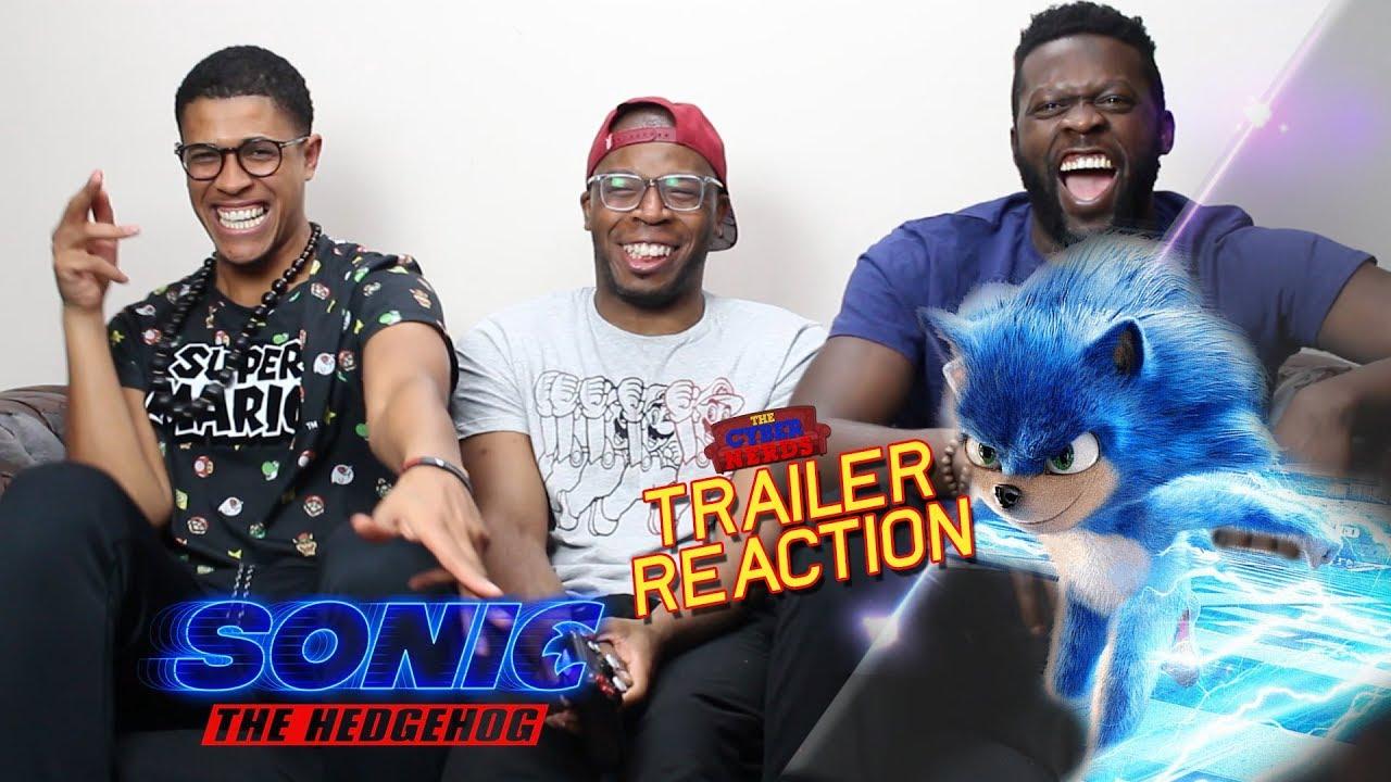 Sonic The Hedgehog Trailer Reaction