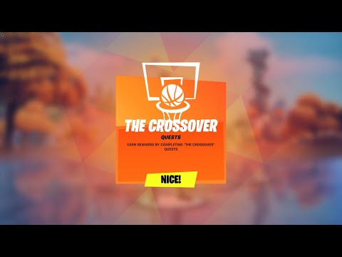 How to Complete All NBA The Crossover Challenges in Fortnite! (NBA Creative Hub Quests)
