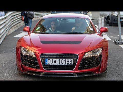 PRIOR-DESIGN PD GT850 AUDI R8 - OVERVIEW and driving 2017 HQ