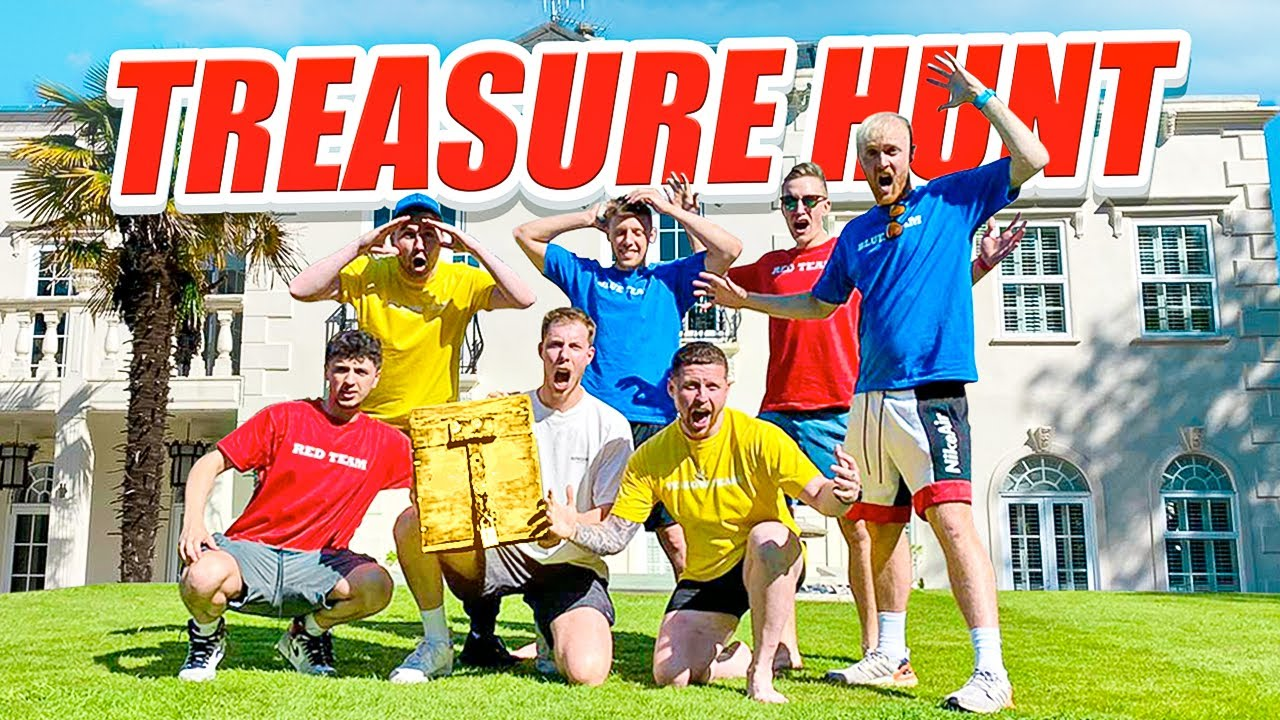 $10,000 YOUTUBER TREASURE HUNT IN A MANSION
