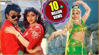 A Tribute to Sridevi All Time Hit Video Songs Jukebox    Sridevi & Chiranjeevi Video Songs