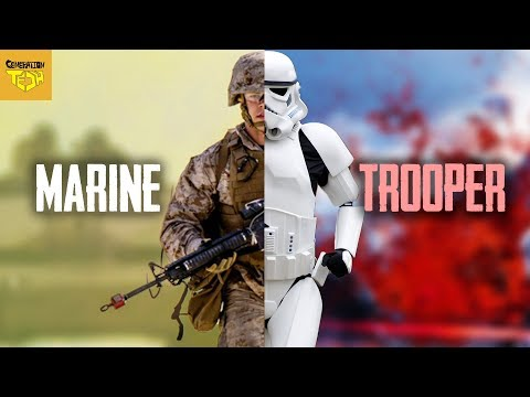 Stormtroopers VS US Marines | Vehicles & Equipment