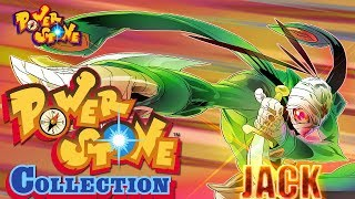 Power Stone Collection PSP Playthrough - POWER STONE 1 STORY MODE with JACK