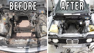 BMW E30 325i Touring Engine Bay [Restoration] - Almost Finished!