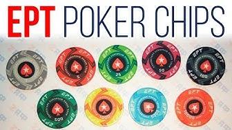 EPT Ceramic Poker Chips, PokerStars European Poker Tour