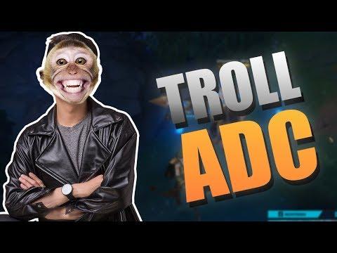 Troll Support bằng Ngộ Không ăn hết mạng của AD :))