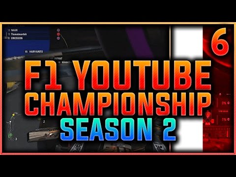 F1 2016 Youtuber Championship Part 6: THE ACTUAL MONACO RACE