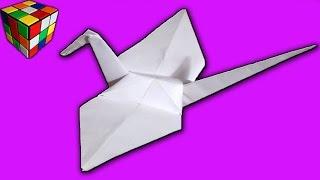 Как сделать журавлика из бумаги! Журавль счастья!  Оризуру оригами своими руками! Поделки из бумаги.(Журавлик счастья Origami своими руками! Игрушка для деток или украшение! Учимся рукоделию! Всё поэтапно и досту..., 2015-11-24T15:40:11.000Z)