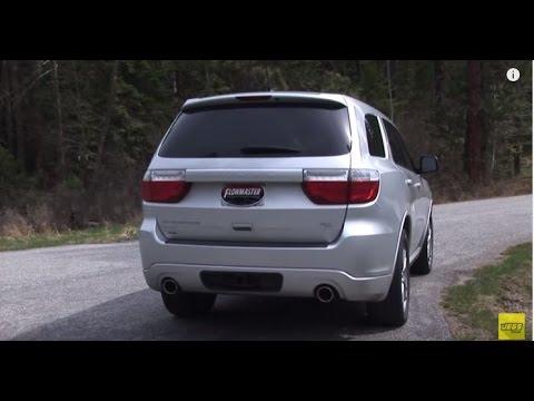 2011 2015 Dodge Durango Rt Performance Exhaust System Kit