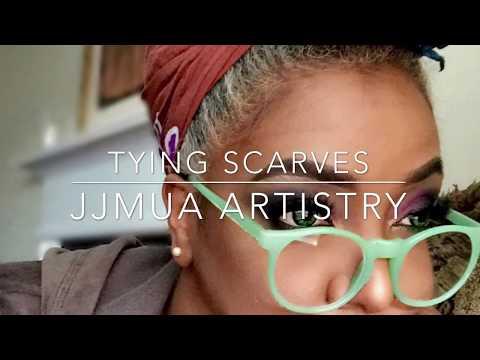 How I Wrap My Head Scarves