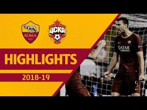 DZEKO + CENGIZ! Roma 3-0 CSKA Moscow, Highlights UCL 2018-19 thumbnail