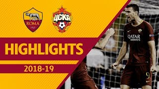 Download Video DZEKO + CENGIZ! Roma 3-0 CSKA Moscow, Highlights UCL 2018-19 MP3 3GP MP4