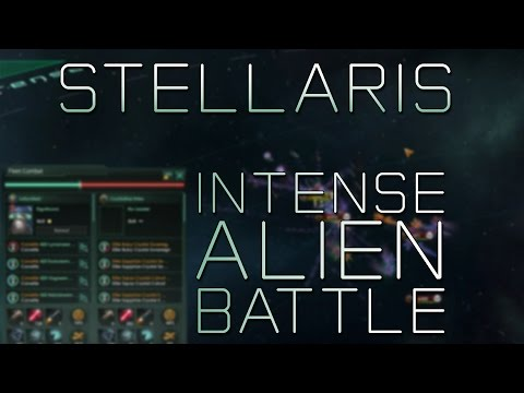 Stellaris Gameplay - Intense Alien Battle - Stellaris Battle (Stream Highlight)
