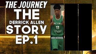 NBA 2K20: The Journey - The Derrick Allen Story ep.1 LAST HIGH SCHOOL GAME