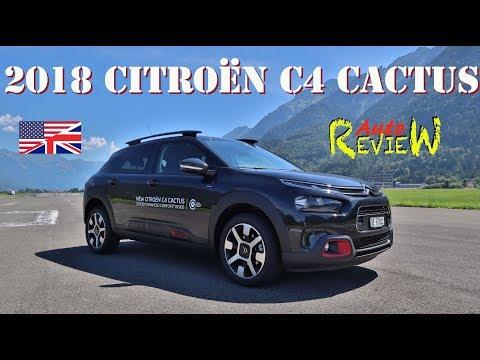 2018 Citroen C4 Cactus PureTech 130 S&S Shine | AutoReview | Episode 107 ENG