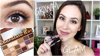 Grwm: Everyday Glam Makeup Tutorial - Summer 2015