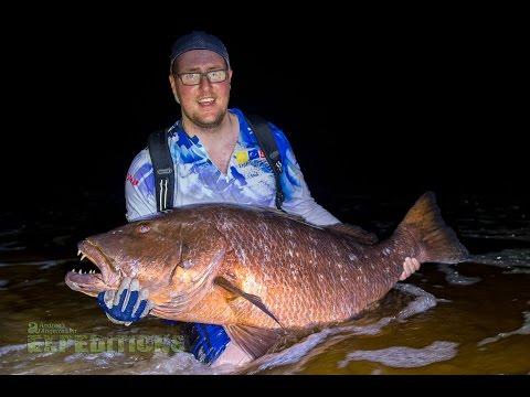 GABON - FISHING - SPIN FISHING - SURFCAST - SETTE CAMA