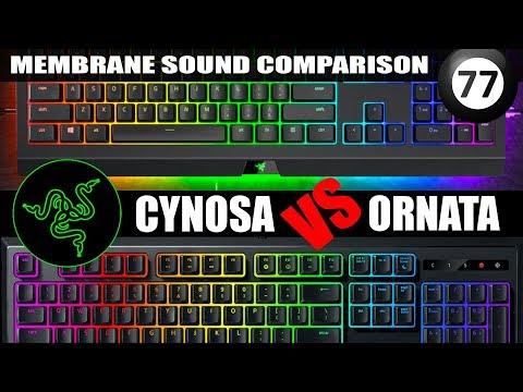 Razer Cynosa vs Ornata (Membrane Keyboard Comparison) Review - Which one is Best?
