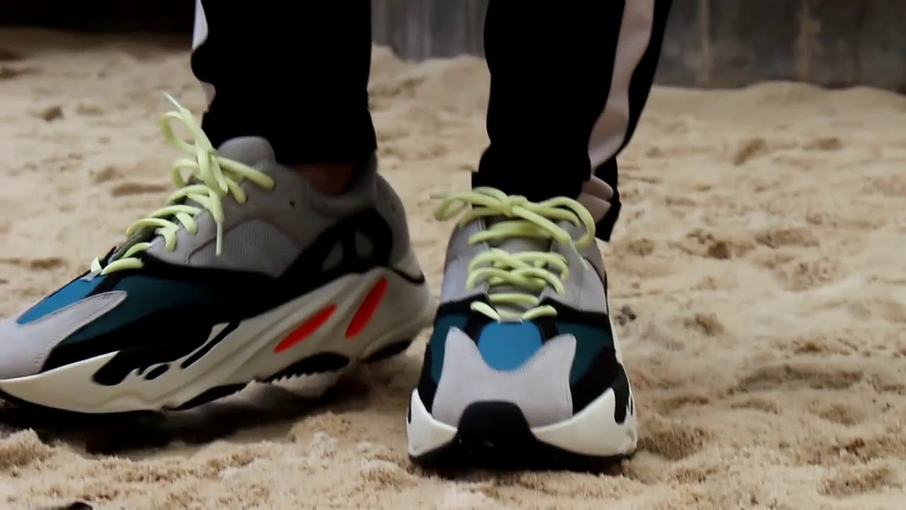 e85c163f65938 THE GREAT YEEZY BOOST 700 WAVE RUNNER ON FEET REVIEW FASHION 2018 ...