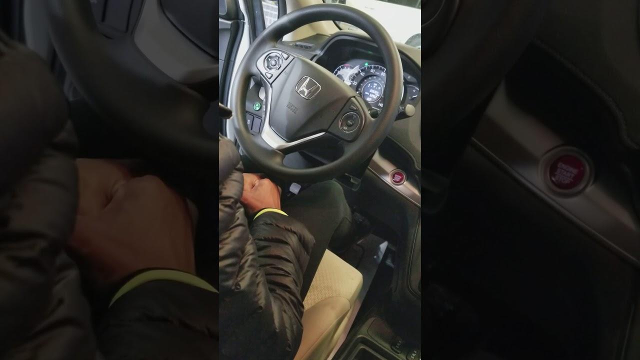 CR-V 2016 vibration