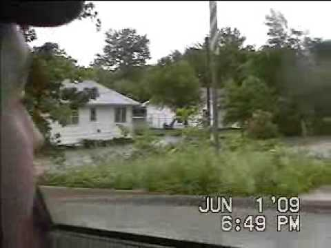 Kirksville Missouri June 1st 2009 flooded