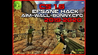 Counter Strike 1.6 WALL HACK - AİMBOT -BUNNY.CFG [*SESLİ ANLATIM]- 2019-2020! 🔥