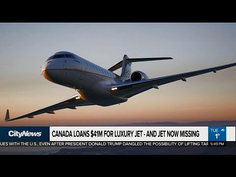 Jet plane missing after buyers default on $41M loan from Canada