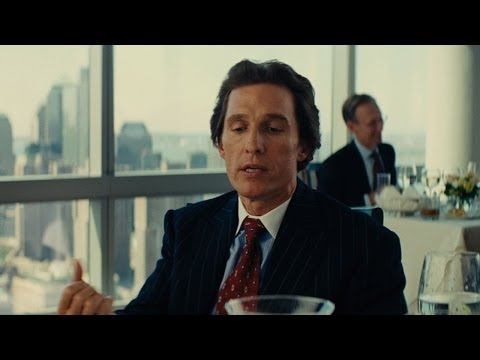 "The Wolf of Wall Street - ""You Jerk Off?"" Clip"