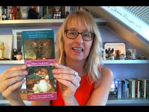 Virgo Love & Romance October November December 2017 Tarot Reading (Angel & Fairy) by Sloane Rhodes