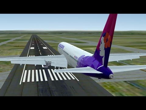 Infinite Flight Hawaiian Airlines Boeing B767 - 300 Denver region
