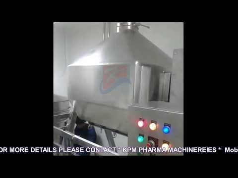 OCTAGONAL BLENDER IV From KPM Pharma Machineries