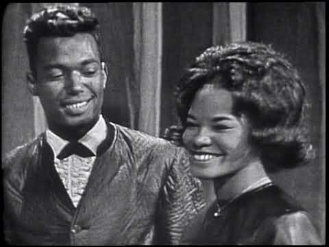American Bandstand 1964- Interview The Superbs