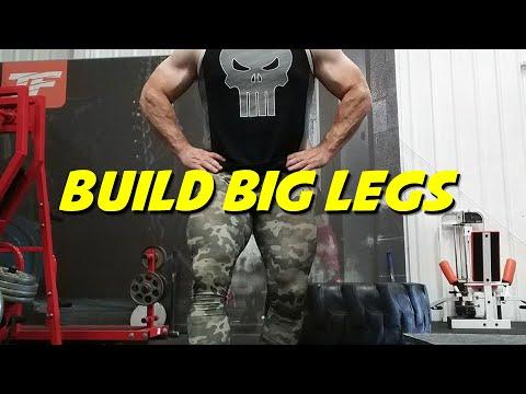 Building BIG Legs Better Workouts Series Part 1