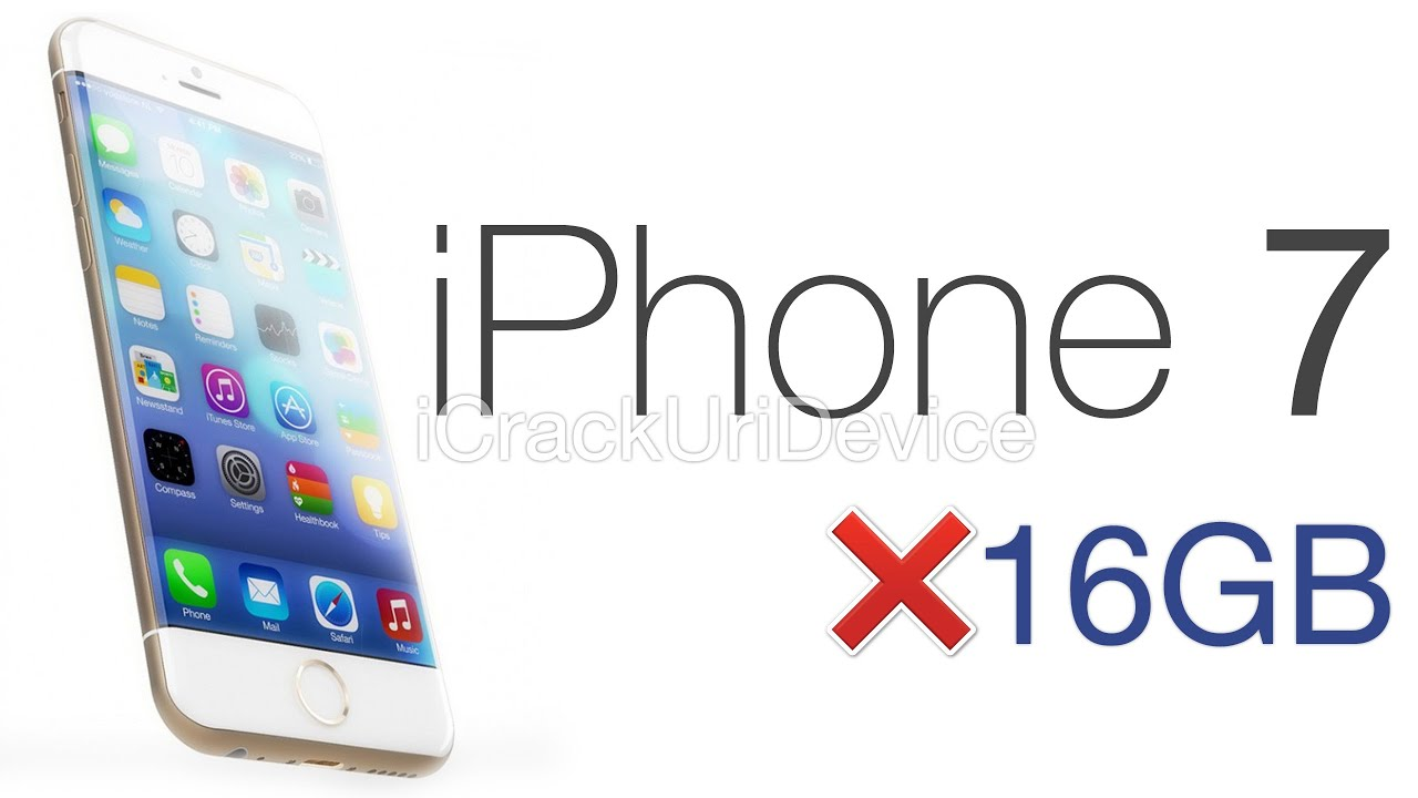 Image result for iphone 7 No 16GB Option