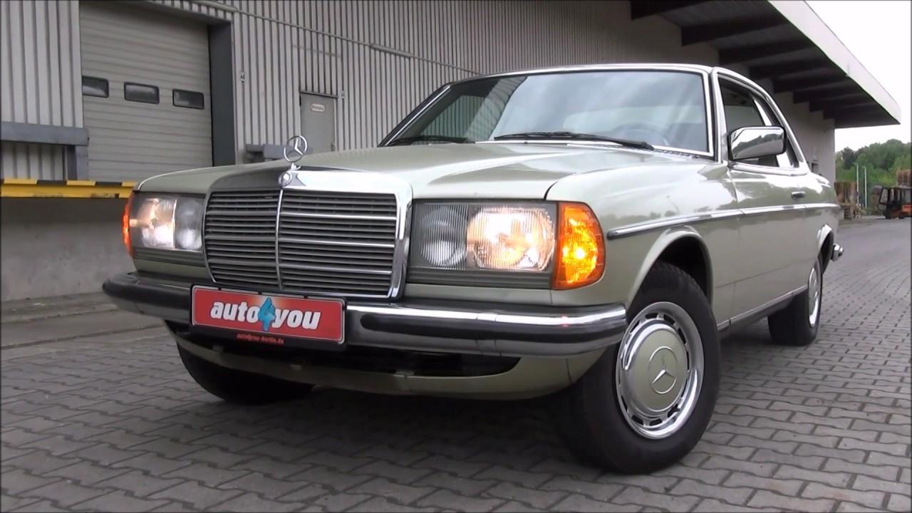 Mercedes W123 Test 230ce Von 1982 Oldtimer Fur Den Alltag